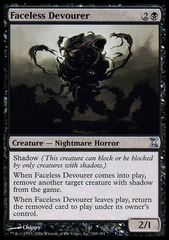 Faceless Devourer - Foil