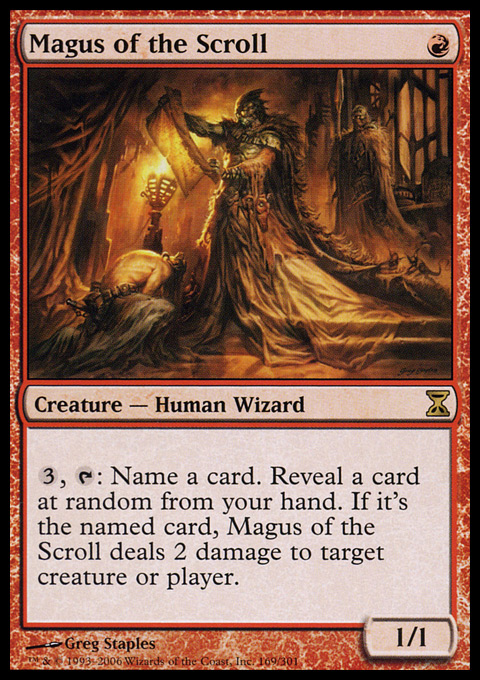 Magus of the Scroll - Foil