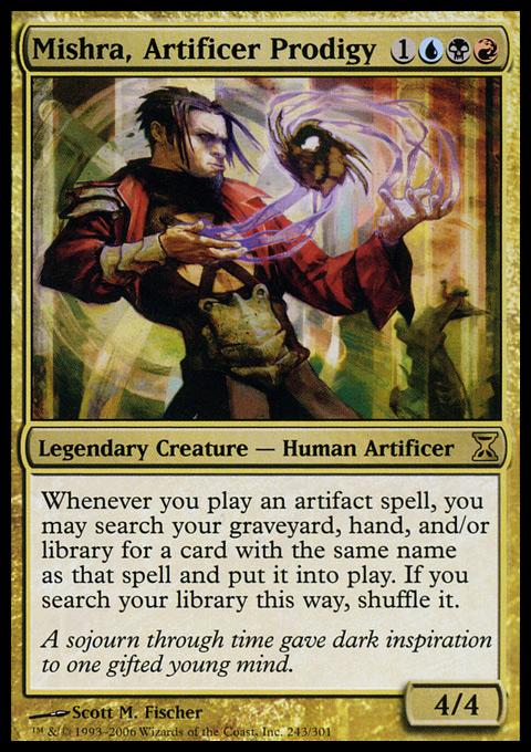 Mishra, Artificer Prodigy - Foil