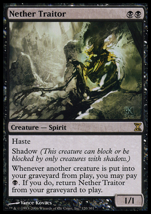 Nether Traitor - Foil