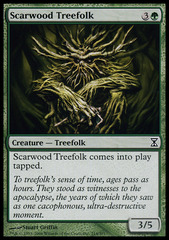 Scarwood Treefolk - Foil