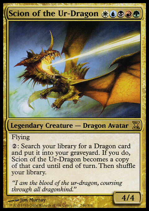 Scion of the Ur-Dragon - Foil