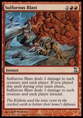 Sulfurous Blast - Foil