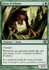 Kavu Predator - Foil on Channel Fireball