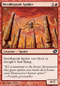 Needlepeak Spider - Foil