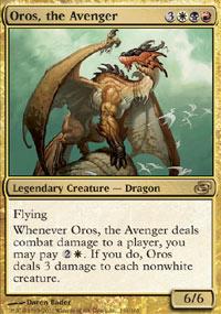 Oros, the Avenger - Foil