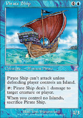 Pirate Ship - Foil