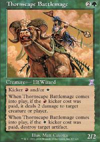 Thornscape Battlemage - Foil