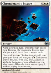 Chronomantic Escape - Foil