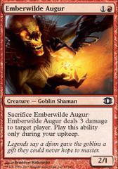 Emberwilde Augur - Foil on Channel Fireball
