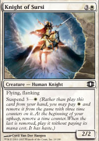 Knight of Sursi - Foil
