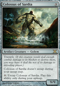 Colossus of Sardia - Foil