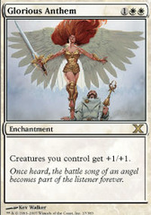 Glorious Anthem - Foil on Channel Fireball