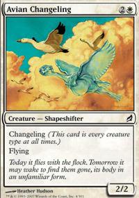 Avian Changeling - Foil
