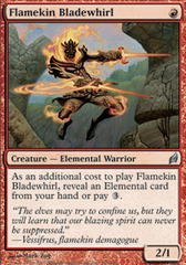Flamekin Bladewhirl - Foil