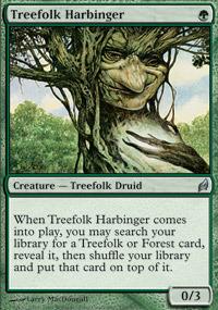 Treefolk Harbinger - Foil