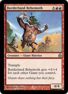 Borderland Behemoth - Foil