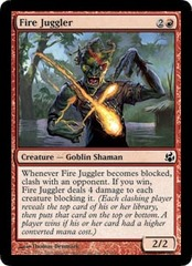 Fire Juggler - Foil on Channel Fireball
