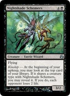 Nightshade Schemers - Foil
