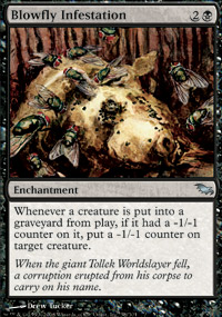 Blowfly Infestation - Foil