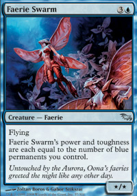 Faerie Swarm - Foil