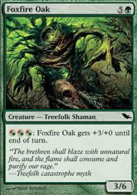 Foxfire Oak - Foil