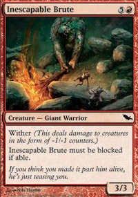 Inescapable Brute - Foil
