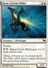 Rune-Cervin Rider - Foil