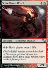 Spiteflame Witch - Foil