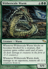 Witherscale Wurm - Foil