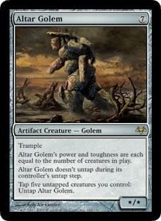 Altar Golem - Foil
