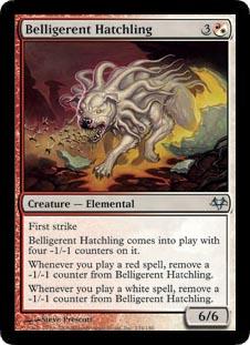 Belligerent Hatchling - Foil