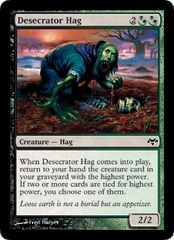 Desecrator Hag - Foil on Channel Fireball