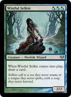 Wistful Selkie - Foil
