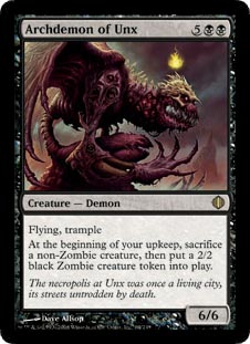 Archdemon of Unx - Foil