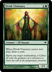 Elvish Visionary - Foil on Channel Fireball