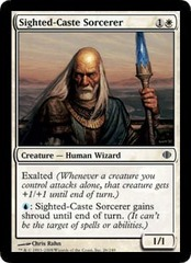 Sighted-Caste Sorcerer - Foil