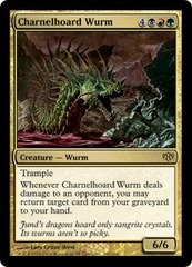 Charnelhoard Wurm - Foil on Channel Fireball