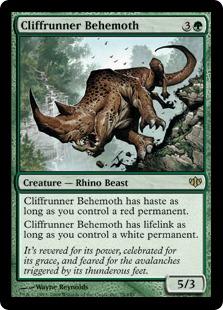 Cliffrunner Behemoth - Foil