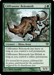 Cliffrunner Behemoth - Foil on Channel Fireball