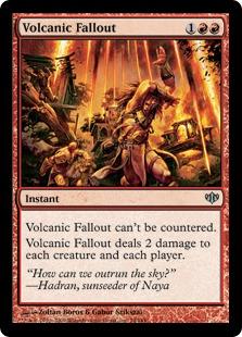 Volcanic Fallout - Foil