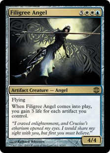 Filigree Angel - Foil