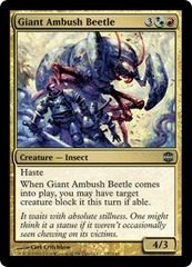 Giant Ambush Beetle - Foil