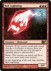 Ball Lightning - Foil on Channel Fireball