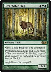Great Sable Stag - Foil