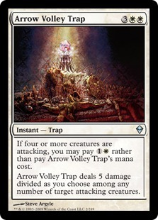 Arrow Volley Trap - Foil