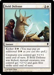 Bold Defense - Foil