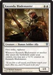 Kazandu Blademaster - Foil (ZEN)