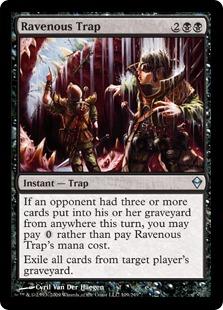 Ravenous Trap - Foil