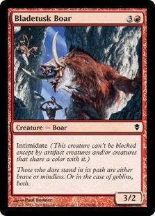Bladetusk Boar - Foil
